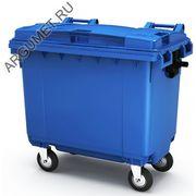 """Пластиковый мусорный контейнер """"Стандарт 660/Р"""""""