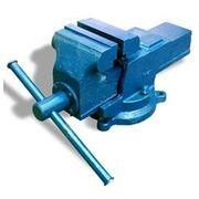 Тиски слесарные ТСС-125, ВxДxШ: 227x450x210 мм, 13.6 кг