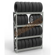 Стеллаж для хранения шин и колес СТШ-к3 2500x1500x400