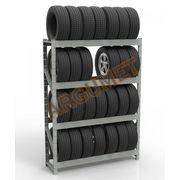 Стеллаж для хранения шин и колес СТШ-к2 2000x2000x400