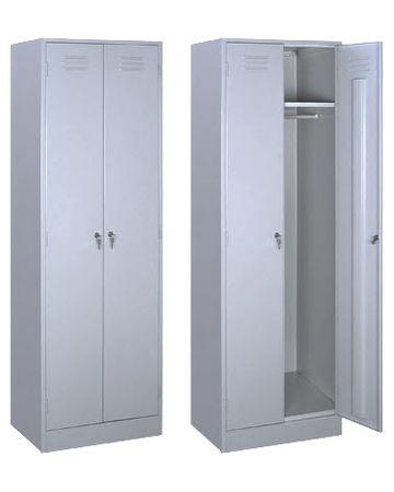 """""""ШР-22/600"""" Сварной  шкаф для одежды толщина 0,6 мм."""