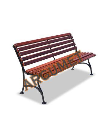 Скамья стальная «ЭЛЕГАНТ без подлокотников»