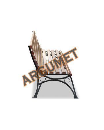 Скамья стальная «БУЛЬВАР без подлокотников»
