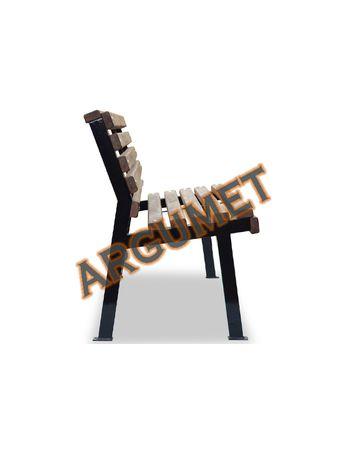 Скамья стальная «МОДЕРН без подлокотников»