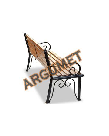 Скамья стальная «УЗОРЫ»