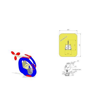Качалка детская ПКП 4013