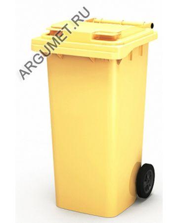 """Пластиковый мусорный контейнер """"Стандарт 120/Р"""""""