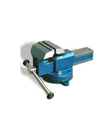 Тиски слесарные ТСС-100, ВxДxШ: 165x245x190 мм, 11 кг
