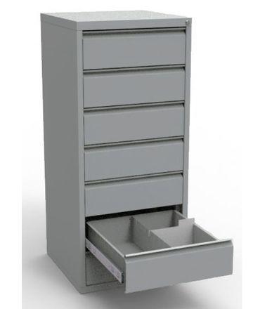 Картотечный шкаф «ШКБ-07/5» (под формат А-5)