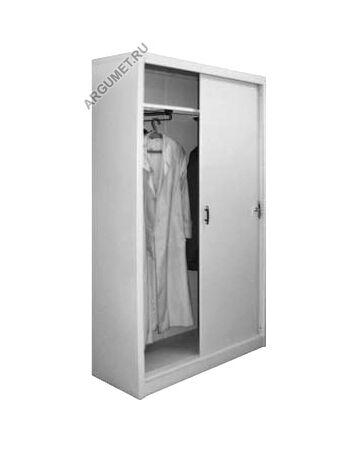 Металлический шкаф для одежды ШМО 24 К, 2000x1000x400